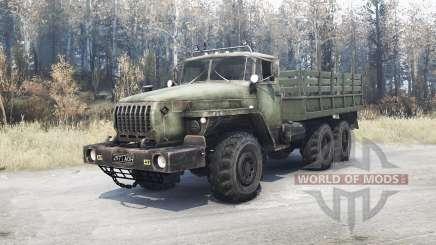 Ural 4320-10 für MudRunner