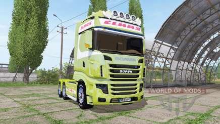 Scania R700 Evo CLAAS pour Farming Simulator 2017