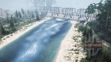 Mezhyhirya - Unten am Fluss für MudRunner