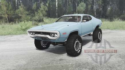 Plymouth GTX 1971 (GR2-RS23) off-road pour MudRunner