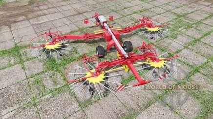 POTTINGER TOP 1252 C multifast pour Farming Simulator 2017