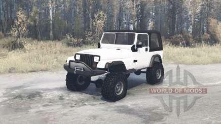 Jeep Wrangler (YJ) für MudRunner