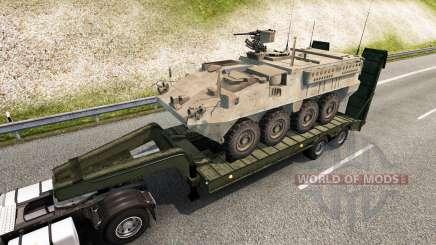 Military cargo pack v2.2.1 pour Euro Truck Simulator 2