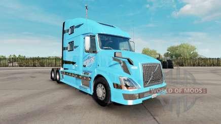 La peau TFX International pour le camion Volvo VNL 780 pour American Truck Simulator