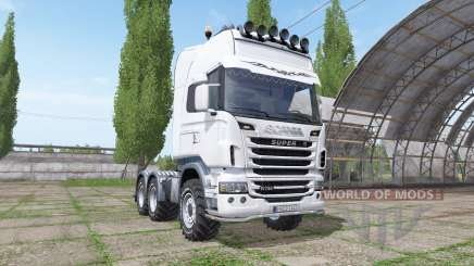 Scania R730 v1.0.2 pour Farming Simulator 2017