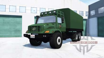 Mercedes-Benz Zetros 2733 A chinese army für BeamNG Drive