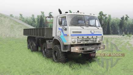 KamAZ 63501 Mustang v1.3 pour Spin Tires
