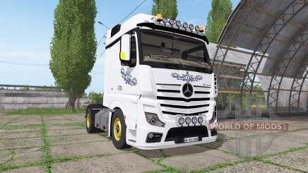 Mercedes-Benz Actros LS (MP4) für Farming Simulator 2017