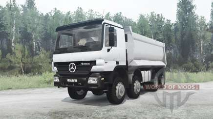 Mercedes-Benz Actros 4141 (MP2) pour MudRunner