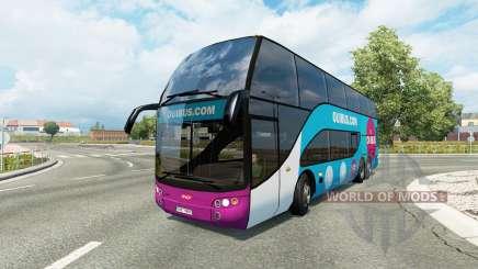 Bus traffic v1.8.2 pour Euro Truck Simulator 2