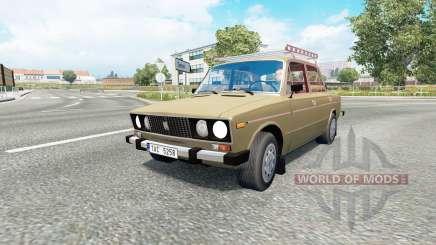 Russian traffic pack v1.7.1 pour Euro Truck Simulator 2