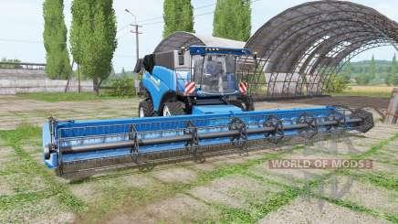 New Holland CR10.90 RowTrac blue pour Farming Simulator 2017