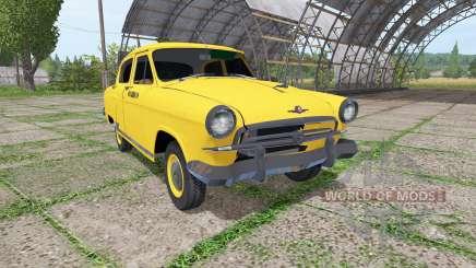 GAZ 21 Wolga taxi für Farming Simulator 2017