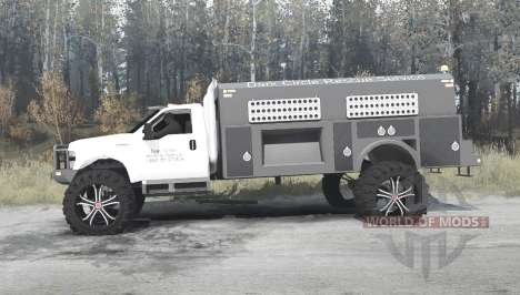 Ford F-450 Super Duty Regular Cab pour Spintires MudRunner