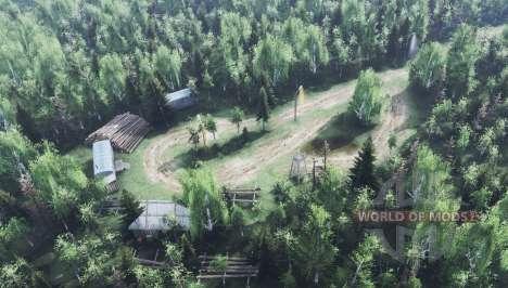 Village Ryabkovo v1.1 pour Spin Tires