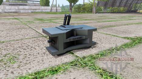 Case IH weight pour Farming Simulator 2017
