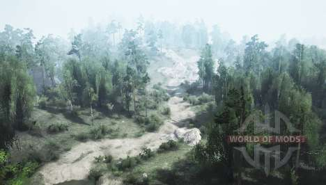 Country trail v1.1 pour Spintires MudRunner