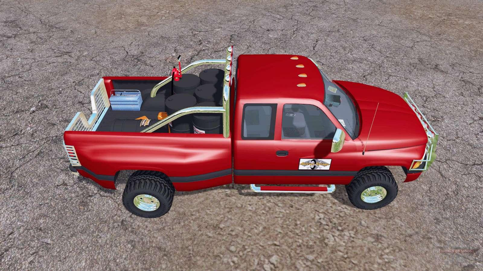 dodge ram 3500 club cab mobile tank pour farming simulator. Black Bedroom Furniture Sets. Home Design Ideas