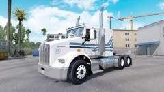 MTV skin für Kenworth T800-LKW für American Truck Simulator