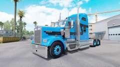 Haut, Blau, Schwarz für Traktor-LKW Kenworth W90