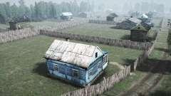 Le village de la Forêt de la zone pour MudRunner