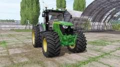 John Deere 6175R v2.1 pour Farming Simulator 2017