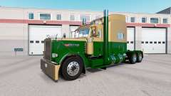 La peau de couleur Or Foncé Vert sur le camion P