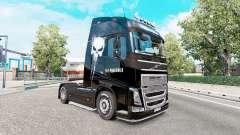 La peau Punisher pour les camions Volvo FH, de s