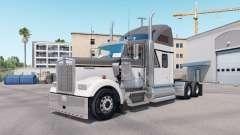 La peau Maître de Gris sur le camion Kenworth W9