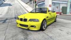 BMW M3 cabrio (E46) 2001 für BeamNG Drive