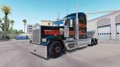 La peau de Big Black sur le camion Kenworth W900