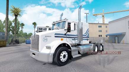 MTV peau pour Kenworth T800 camion pour American Truck Simulator
