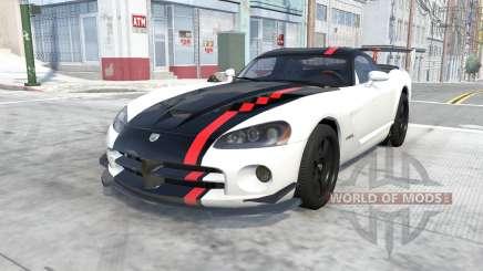 Dodge Viper SRT10 ACR 2010 pour BeamNG Drive