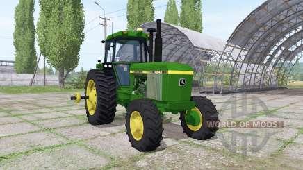 John Deere 4640 v1.1 für Farming Simulator 2017