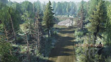 La forêt pour MudRunner