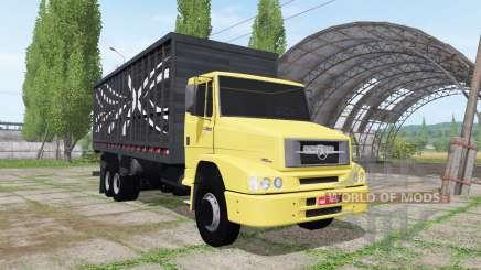 Mercedes-Benz L 1620 6x2 cattle transport für Farming Simulator 2017