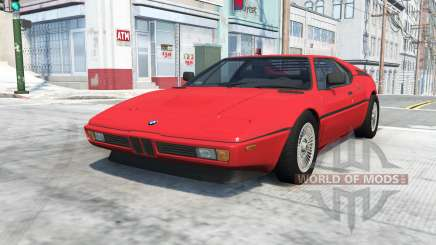 BMW M1 (E26) 1978 pour BeamNG Drive