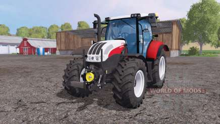 Steyr Profi 4130 front loader pour Farming Simulator 2015