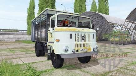 IFA W50 L cattle transport für Farming Simulator 2017