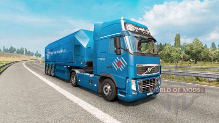Painted truck traffic pack v3.4 pour Euro Truck Simulator 2