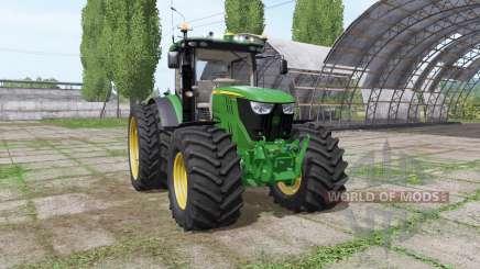 John Deere 6175R v2.1 für Farming Simulator 2017