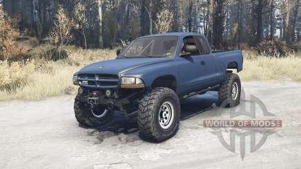 Dodge Dakota Club Cab 1997 v1.1 pour MudRunner