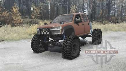 Chevrolet Colorado crawler pour MudRunner