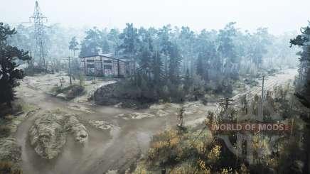 De l'autre côté de la rivière v1.1 pour MudRunner