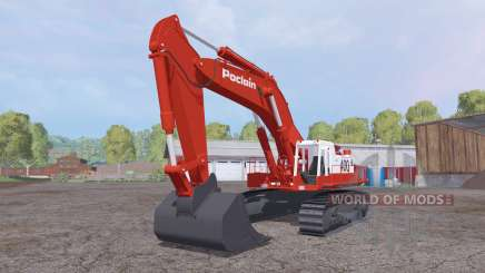 Poclain 400CK für Farming Simulator 2015