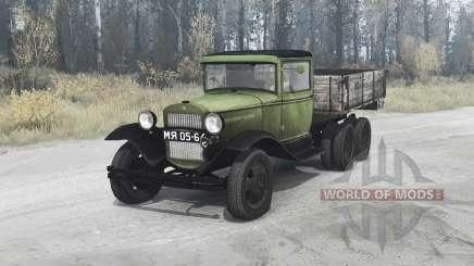 GAZ AAA 1934 pour MudRunner