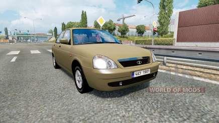 Russian traffic pack v1.8 pour Euro Truck Simulator 2