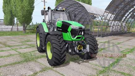 Deutz-Fahr Agrotron 9340 TTV green design v1.1 pour Farming Simulator 2017