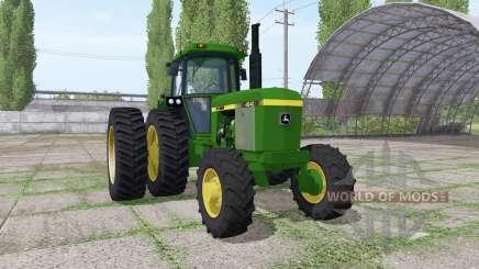 John Deere 4240 v3.0 pour Farming Simulator 2017