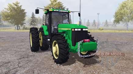 John Deere 8400 v4.0 pour Farming Simulator 2013